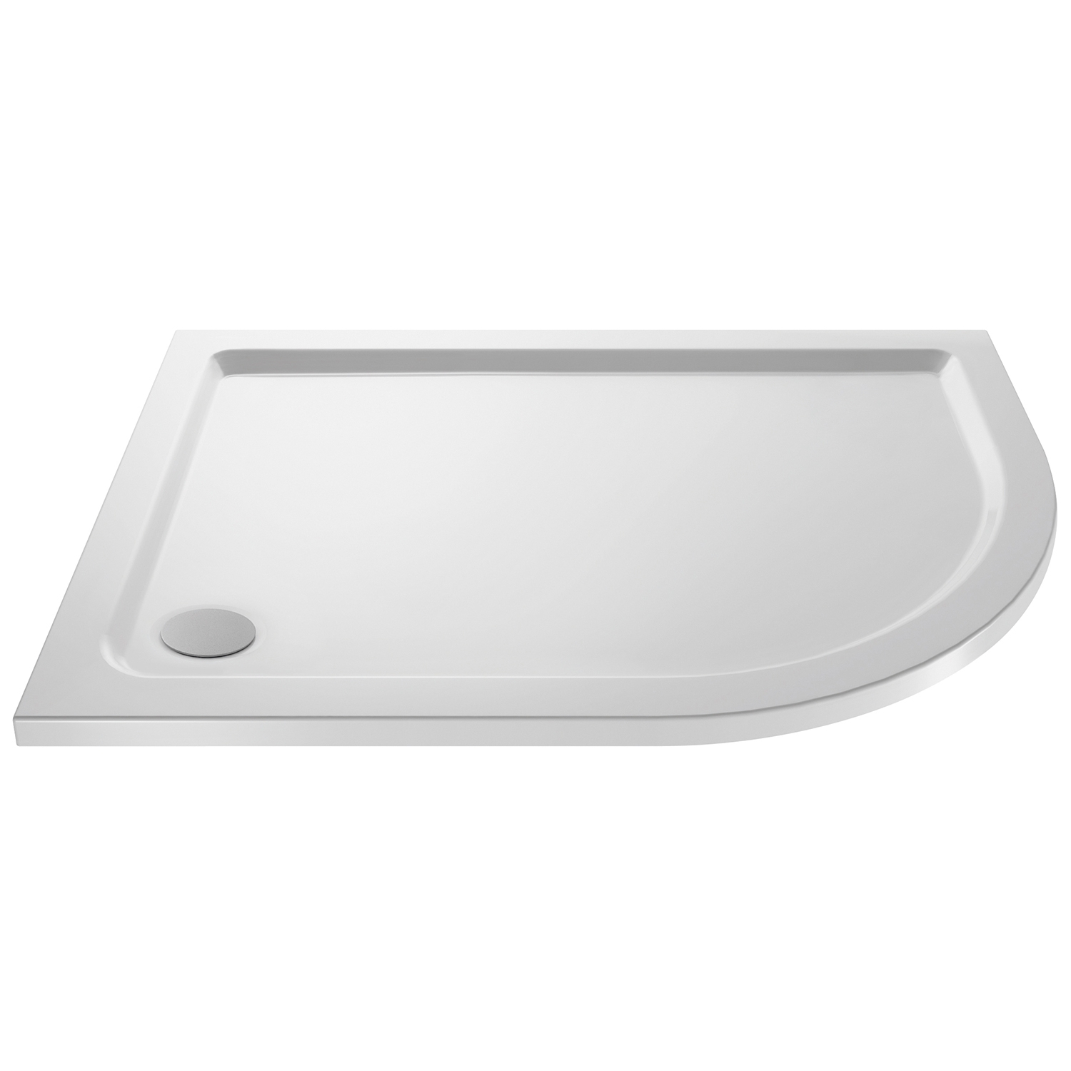 Premier Apex Offset Quadrant Shower Enclosure 900mm x 800mm with Shower Tray RH - 8mm Glass