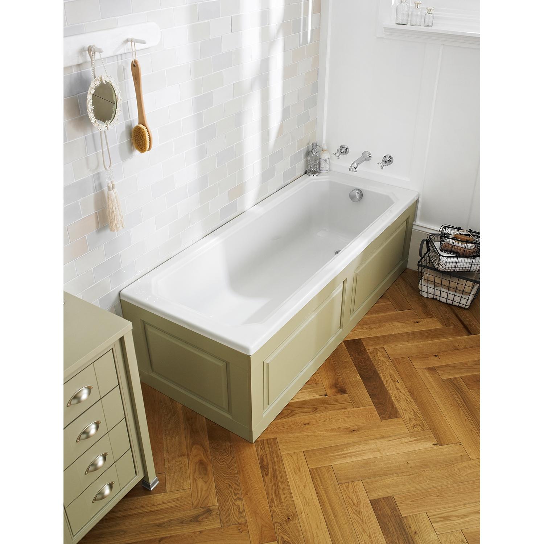 Premier Ascott Single Ended - Acrylic Bath 1700mm x 700mm 0 Tap Hole