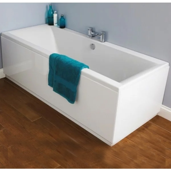 Premier Asselby Double Ended Rectangular Bath 1700mm x 700mm - Acrylic