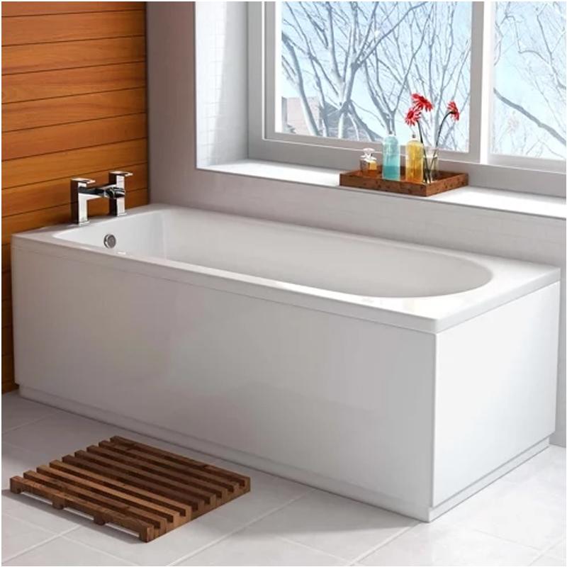 Premier Barmby Single Ended Rectangular Bath 1800mm x 800mm - Acrylic