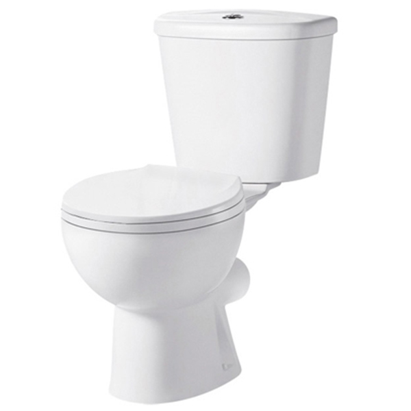 Premier Brisbane Close Coupled Toilet WC Push Button Cistern - Excluding Seat