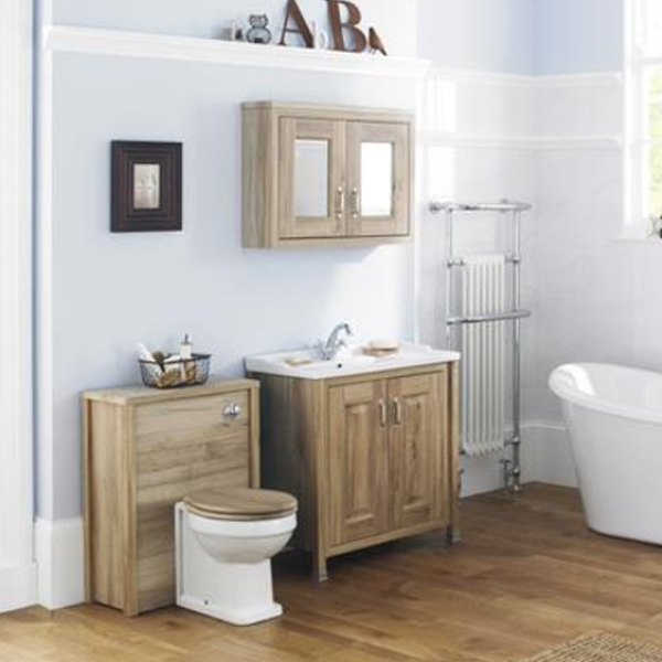 Premier Carlton Toilet Seat, Natural Walnut Effect, Chrome Hinges-0