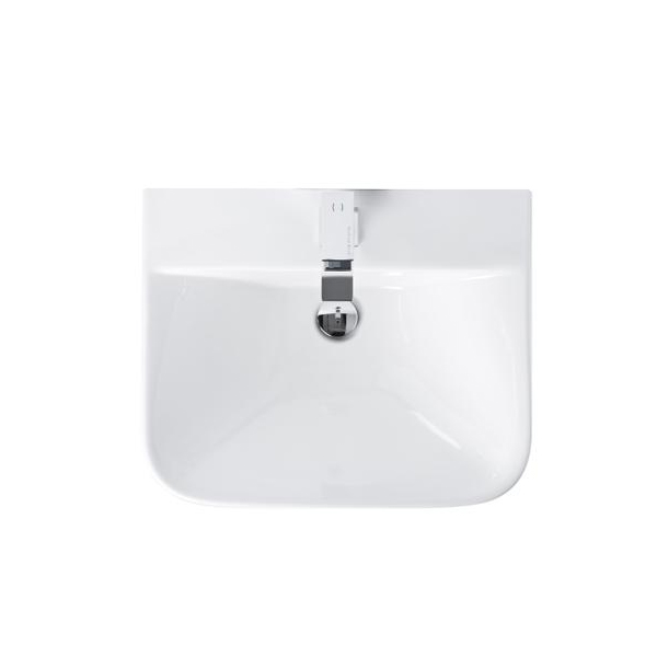 Premier Carmela Basin and Full Pedestal, 550mm Wide, 1 Tap Hole-1