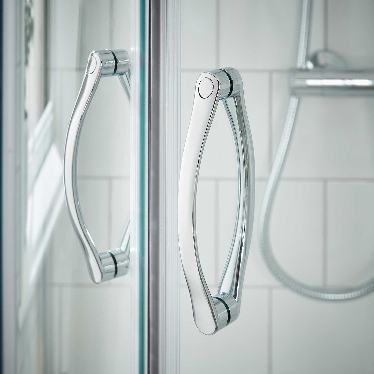 Premier Ella Pivot Shower Door 800mm Wide - 5mm Glass