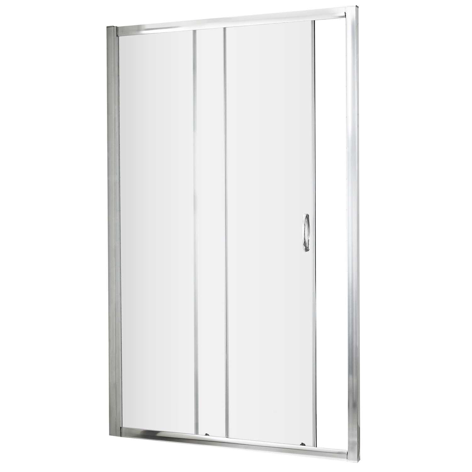 Premier Ella Sliding Shower Door 1200mm Wide - 5mm Glass Chrome