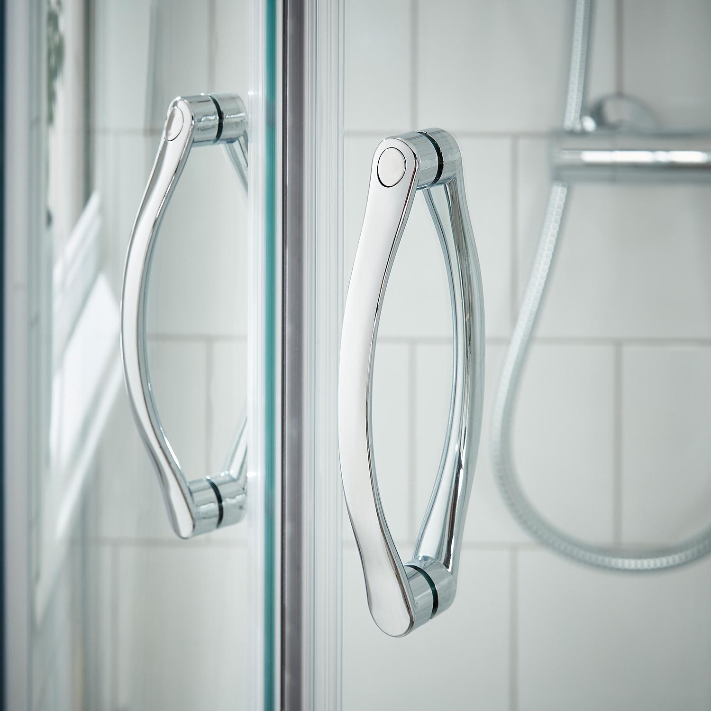 Premier Ella Offset Quadrant Shower Enclosure 1200mm x 800mm - 5mm Glass-0