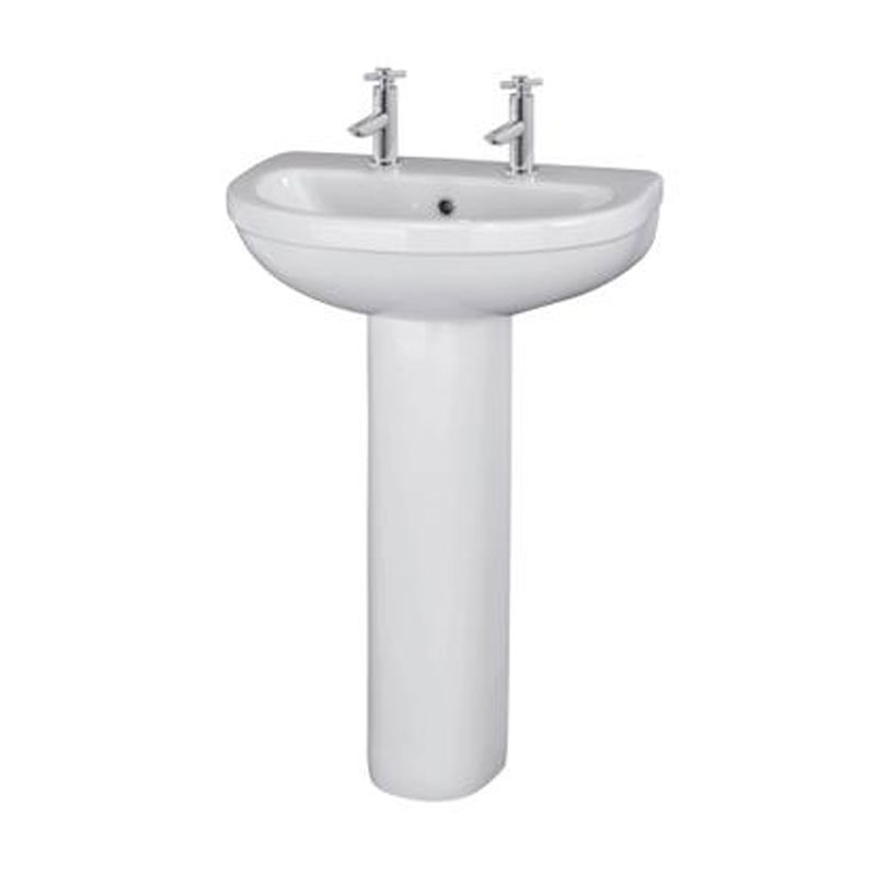 Premier Ivo Bathroom Suite 2 Tap Hole