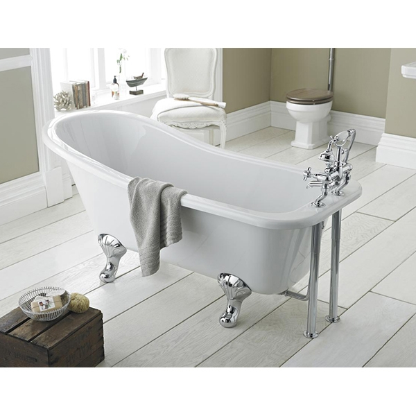 Premier Kensington Freestanding Slipper Bath 1500mm x 730mm - Deacon Leg Set