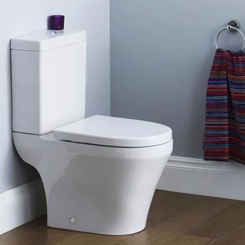 Premier Marlow Close Coupled Toilet WC Push Button Cistern - Excluding Seat