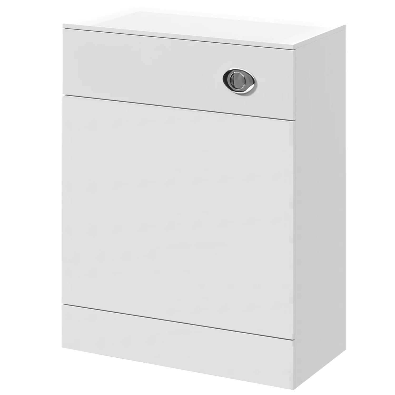 Premier Mayford Back to Wall WC Toilet Unit 500mm Wide x 330mm Deep - Gloss White