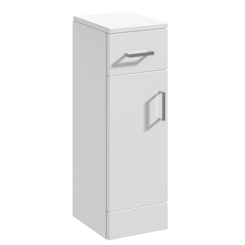 Premier Mayford Cupboard Unit 250mm Wide x 300mm Deep - High Gloss White