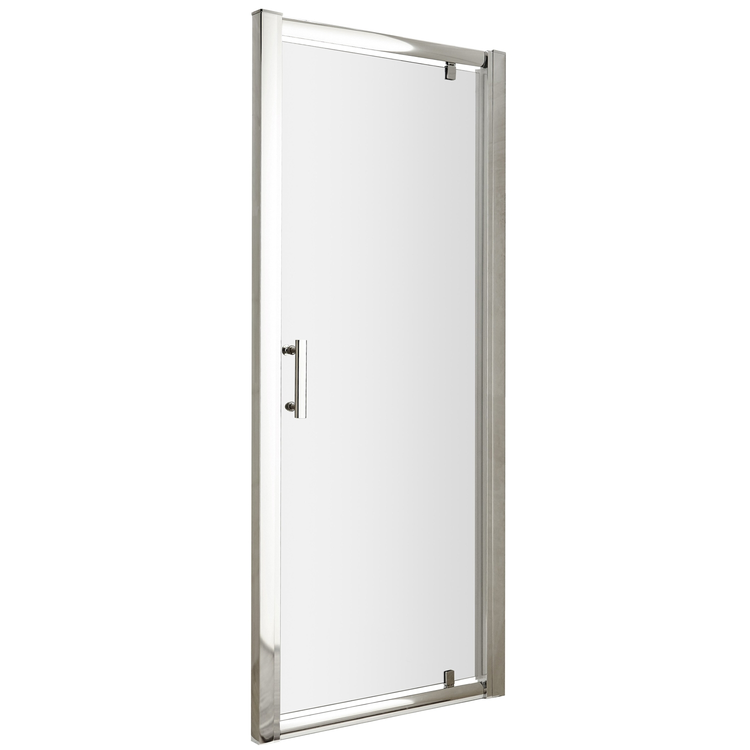 Premier Pacific Pivot Shower Door 700mm Wide - 6mm Glass