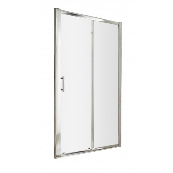 Premier Pacific Sliding Shower Door 1500mm Wide - 6mm Glass-2