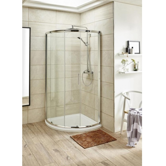 Premier Pacific Single Entry Quadrant Shower Enclosure 860mm x 860mm - 6mm Glass-0