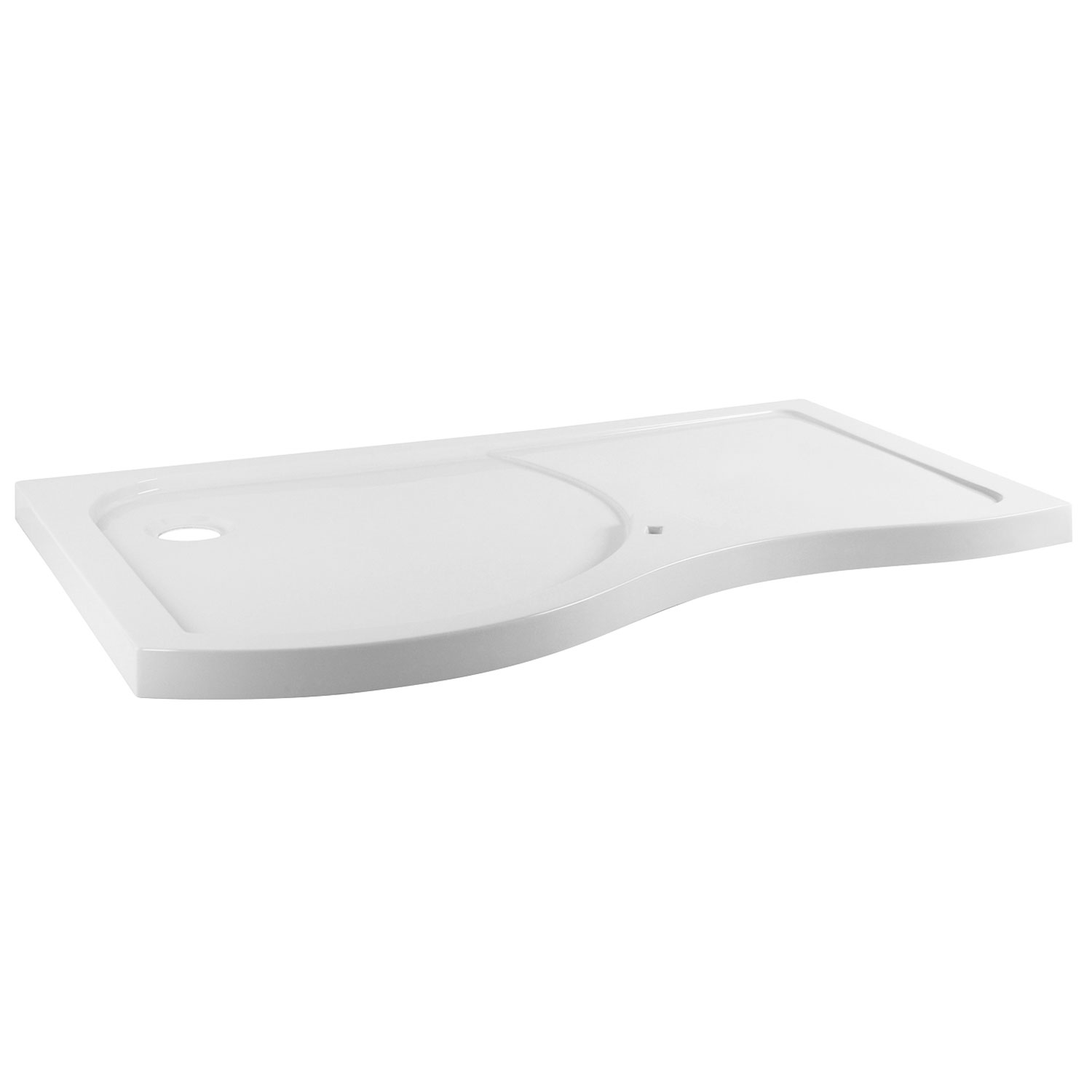 Premier Pacific LH Bespoke Shower Tray | 1395mm x 906mm | BSF1400SLL