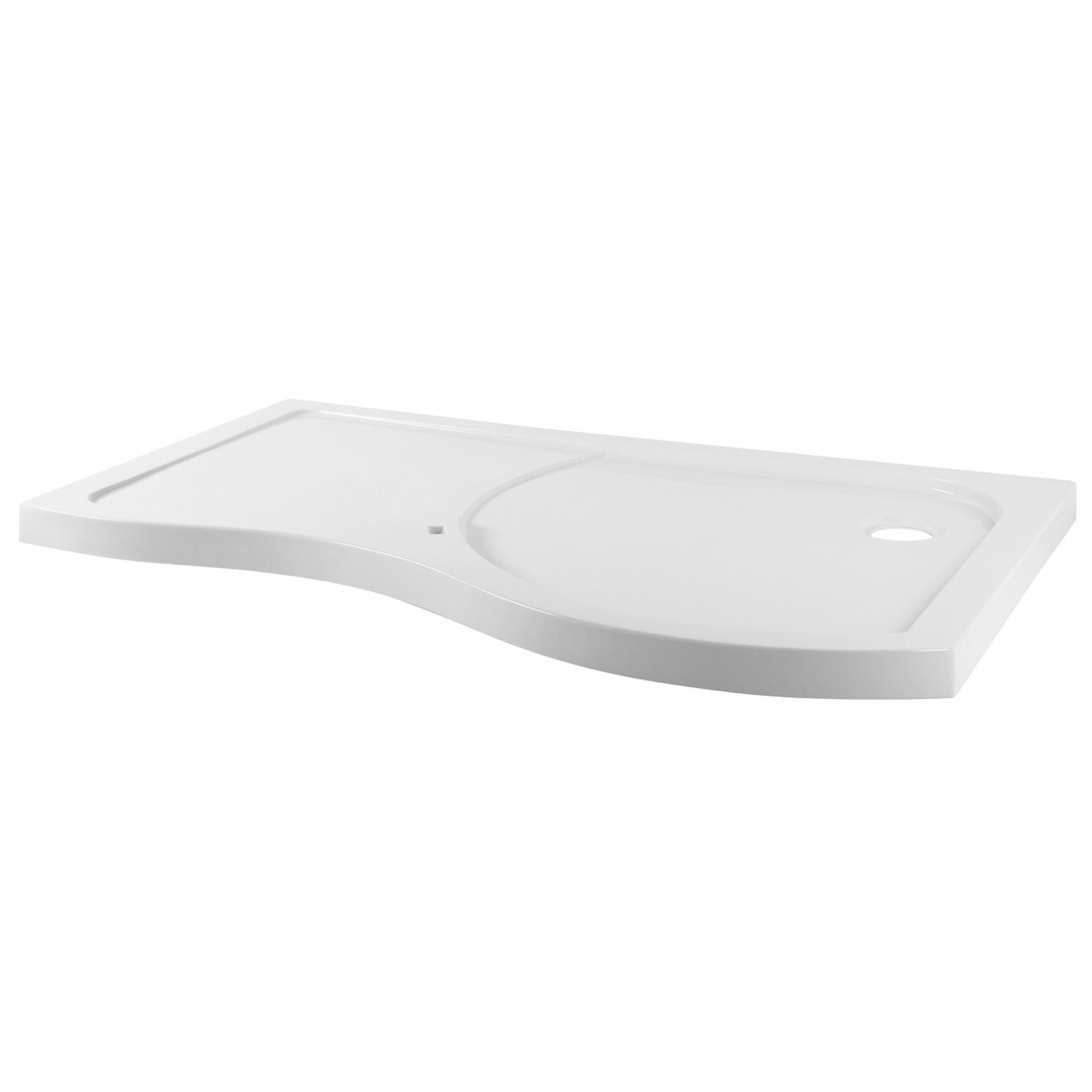 Premier Pacific RH Bespoke Shower Tray | 1395mm x 906mm | BSF1400SLR