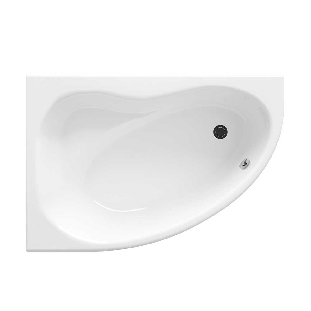 Premier Pilot Offset Corner Bath 1450mm x 1000mm Left Handed