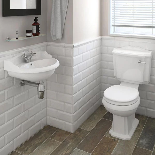 Premier Ryther Wall Hung Cloakroom Basin 500mm Wide 1 Tap Hole