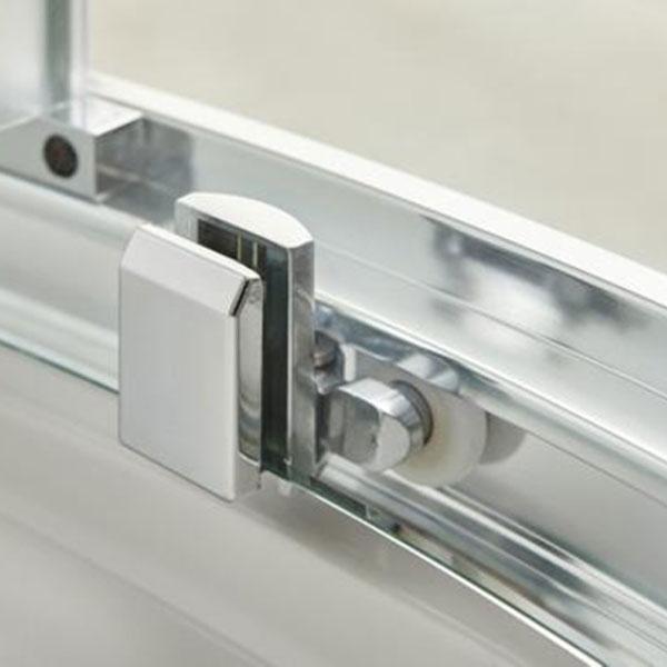 Premier Quadrant Shower Enclosure Pack 900mm Triple Shower Fixed Head & Body Jet-2