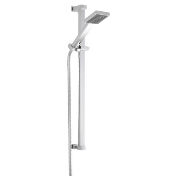 Premier Quadrant Shower Enclosure Pack 800mm Triple Shower with Fixed Head & Kit-9
