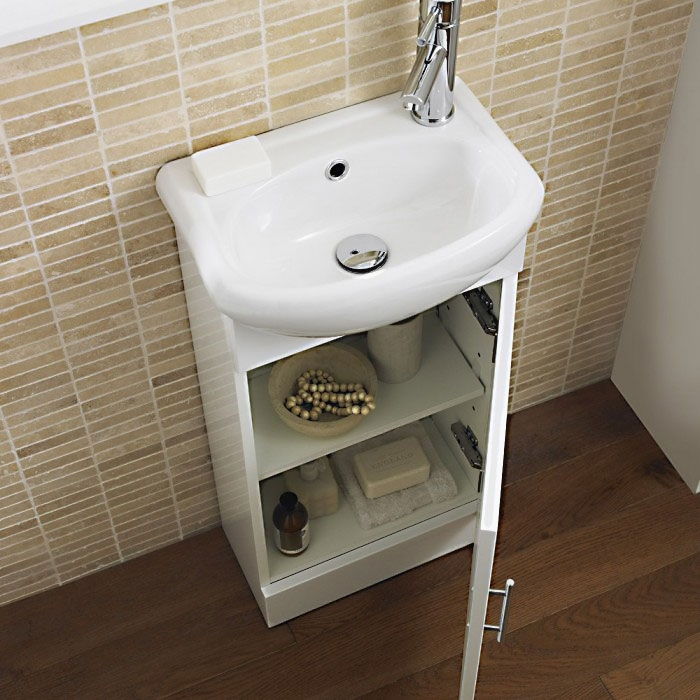 Premier Sienna Combination Furniture Pack With WC Unit 500mm without Tap