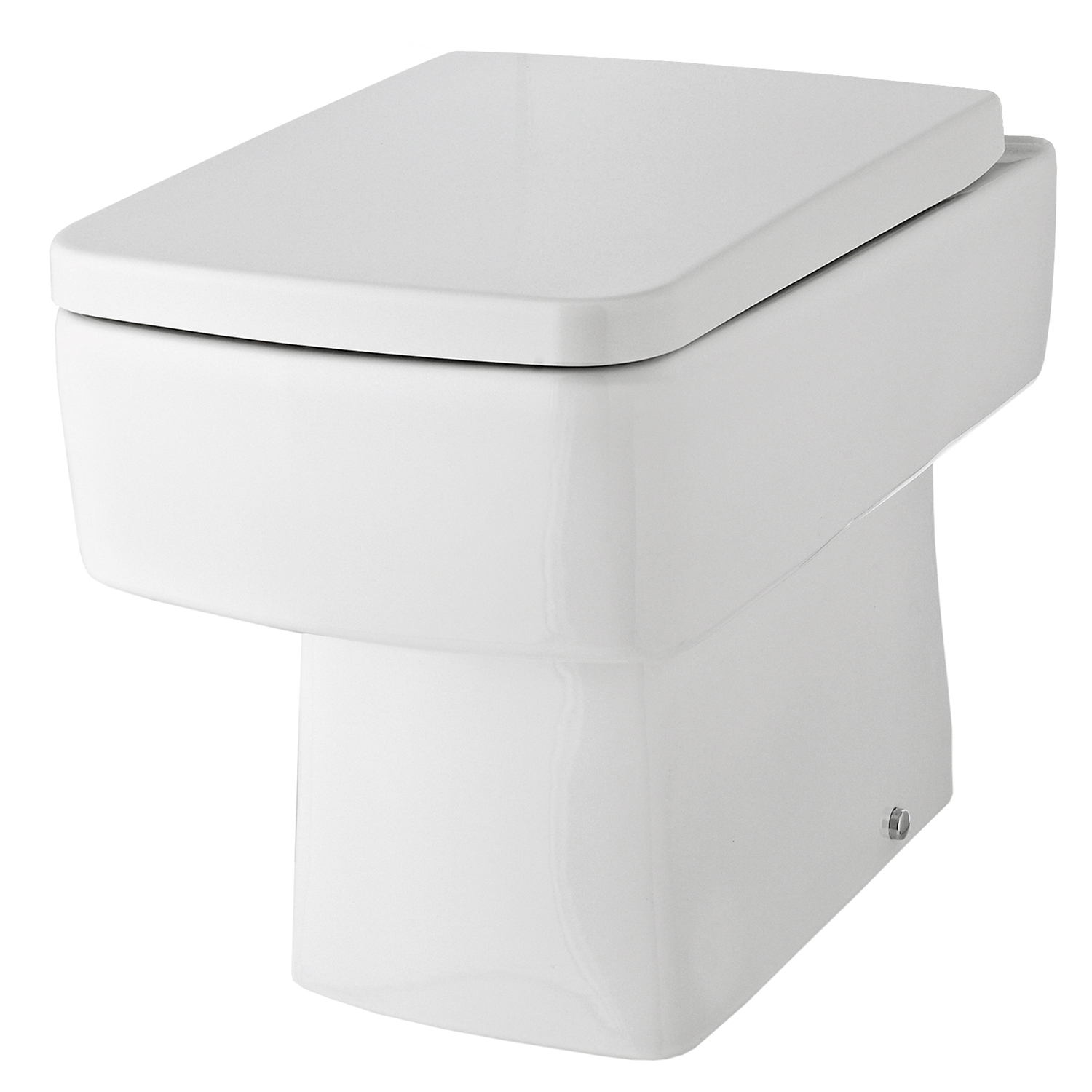 black square toilet seat. Premier Square Thermoplastic Toilet Seat  Top Fix Quick Release Hinges White 1 NCH198 Various