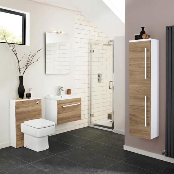 Premier Vantage Bathroom Mirror 800mm H x 600mm W Stainless Steel