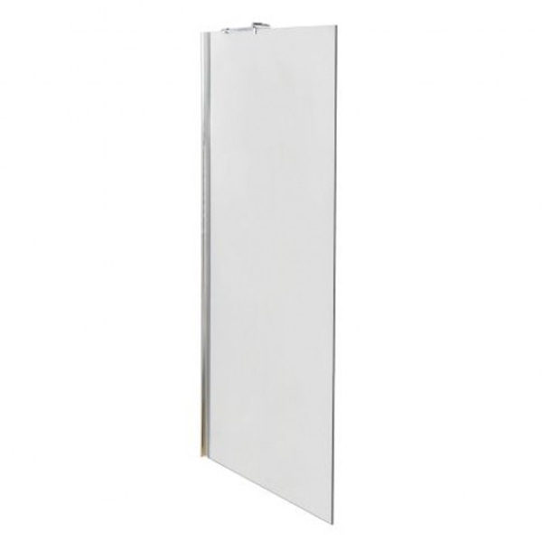 Premier Walk-In Shower Enclosure 1400mm x 800mm (900mm+800mm Glass) with Tray-0