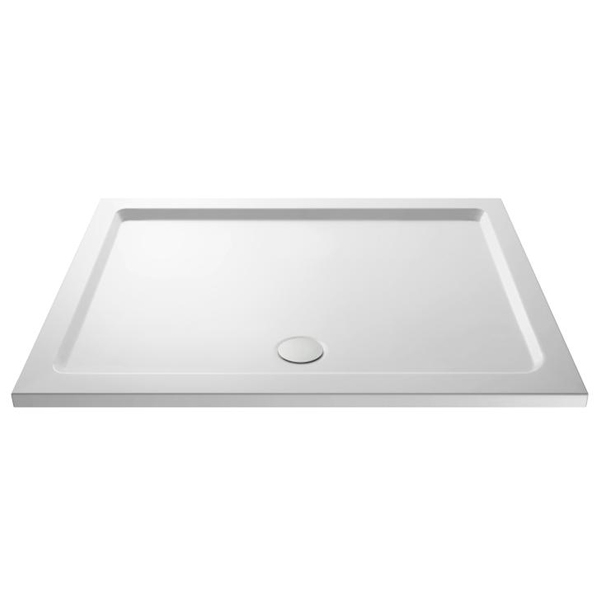Premier Walk-In Shower Enclosure 1600mm x 800mm (1000mm+800mm Glass) with Tray-1