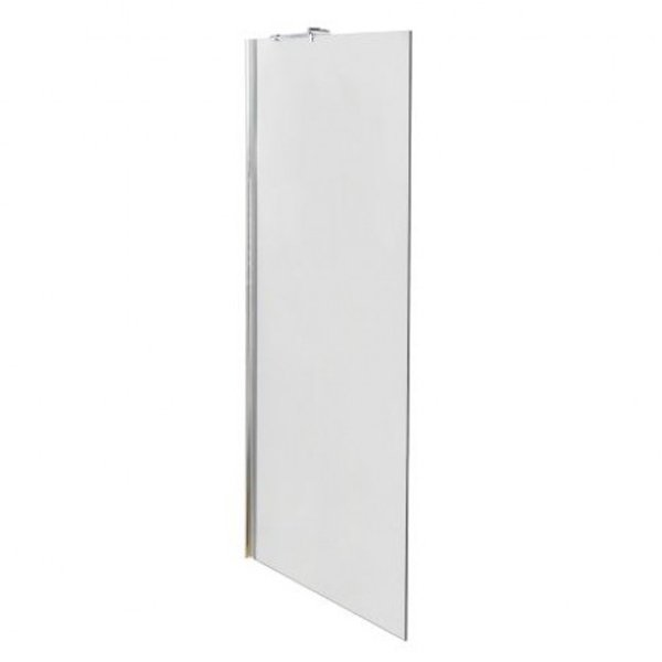 Premier Walk-In Shower Enclosure 1600mm x 700mm (1200mm+700mm Glass) with Tray