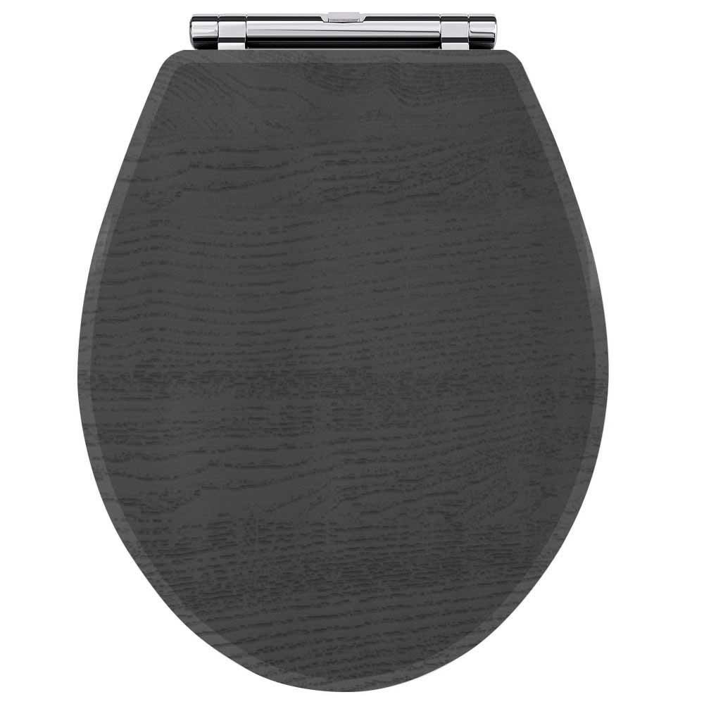 Premier York Soft Close Toilet Seat - Royal Grey