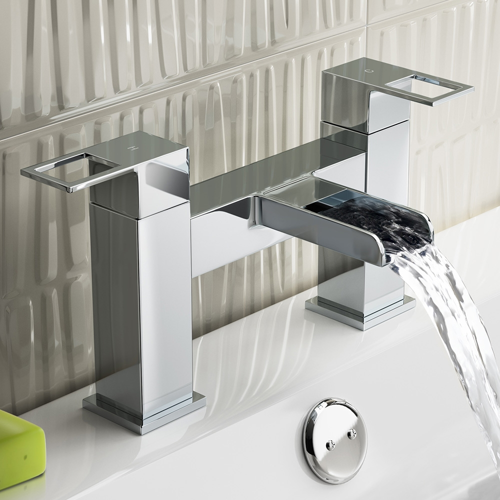Prestige Aruba Bath Filler Tap Deck Mounted - Chrome-0