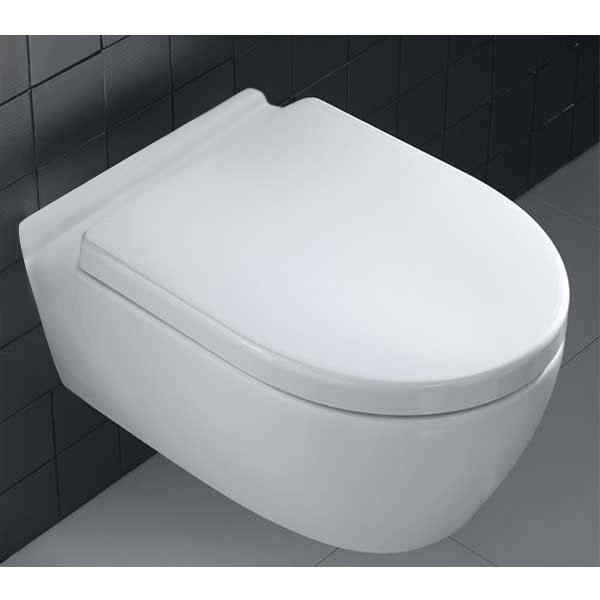 Prestige Dawn Wall Hung Toilet WC - Soft Close Seat-0