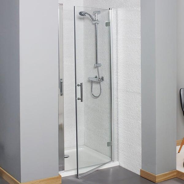 Prestige Estuary Hinged Shower Door 700mm Wide - 6mm Glass-0