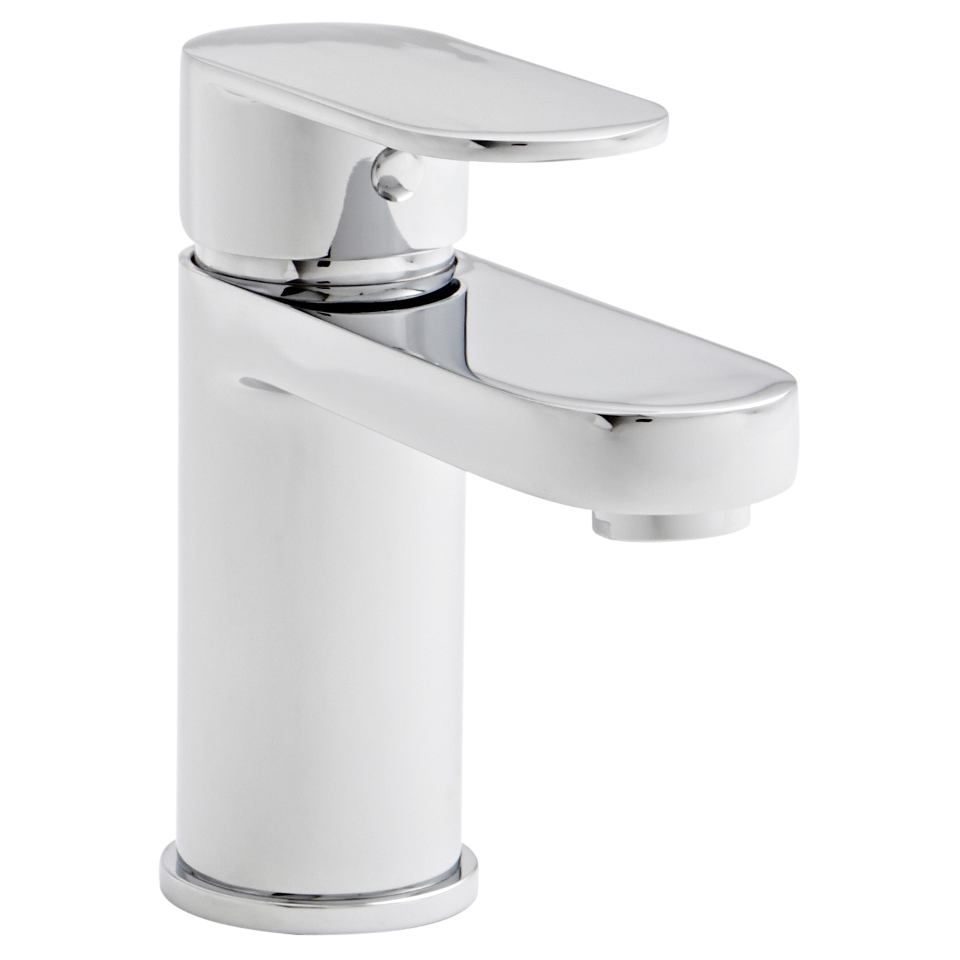 Prestige Grenada Mono Basin Mixer Tap with Click Waste Single Handle - Chrome-0