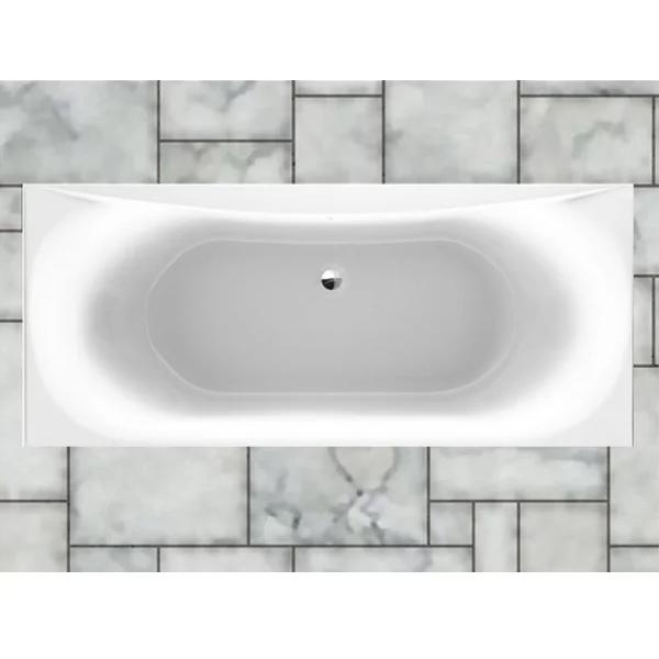 Prestige Hydras Rectangular - Acrylic Bath 1700mm x 750mm Double Ended-0