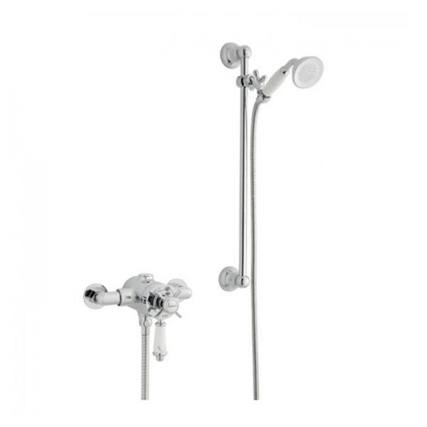 Prestige Klassique Dual Exposed Mixer Shower with Shower Kit
