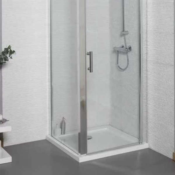 Prestige KT35 Square Shower Tray with Waste 800mm x 800mm Stone Resin-0