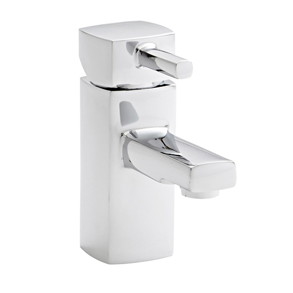 Prestige Viva Mini Mono Basin Mixer Tap with Click Waste - Chrome