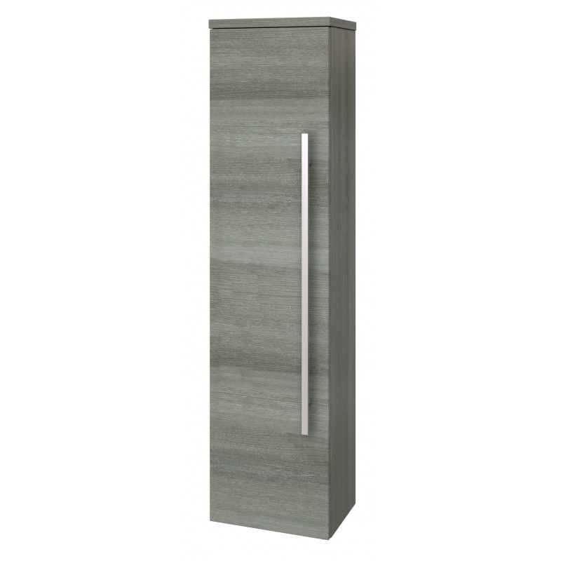 Prestige Purity Wall Mounted Storage Unit 355mm Wide Grey Ash
