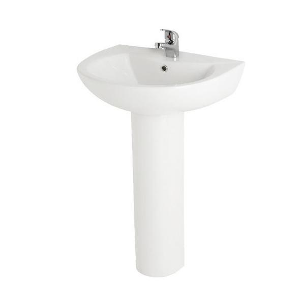 Prestige Uranus Corner Bathroom Suite 1 Tap Hole-0
