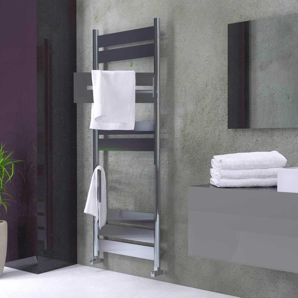 Radox Apollo Flex Designer Heated Towel Rail 1400mm x 500 W - Chrome-0