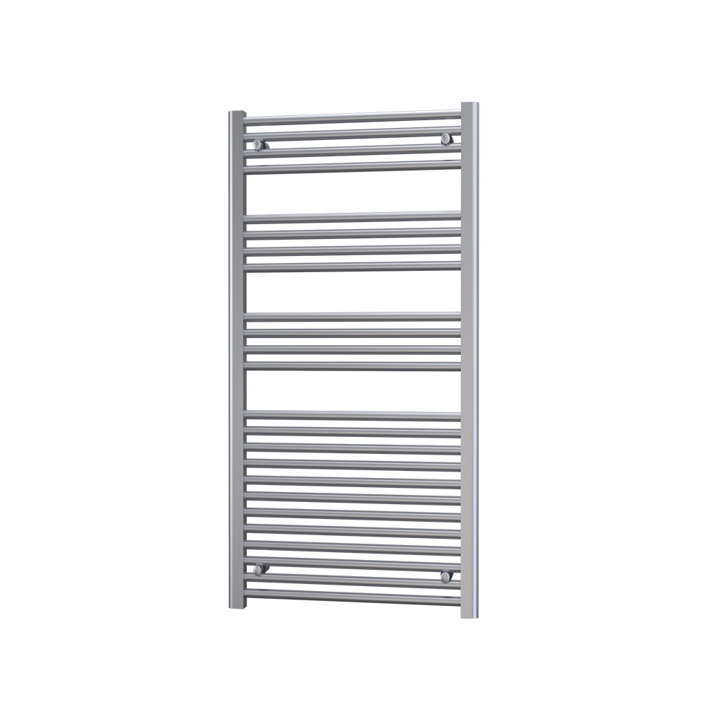 Radox Premier Straight Heated Towel Rail 1200mm H x 400mm W - White