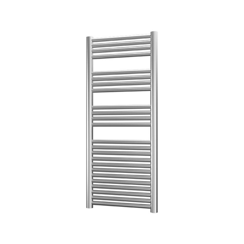 Radox Premier XL Straight Heated Towel Rail 1200mm H x 500mm W - Stainless Steel-0
