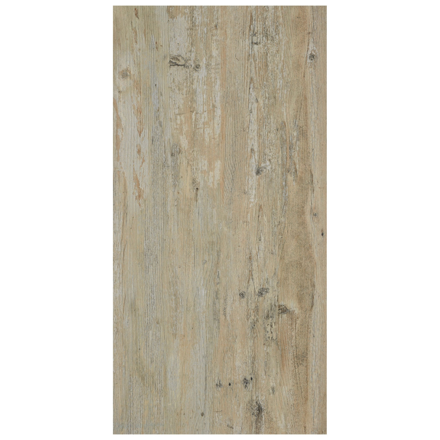 RAK Hemlock Porcelain Tile - 1200mm H x 195mm W - Maple (Box of 4)
