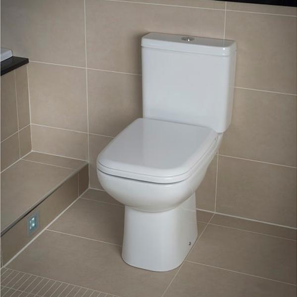 RAK Origin 62 Full Access Close Coupled Toilet - Deluxe Soft Close Seat