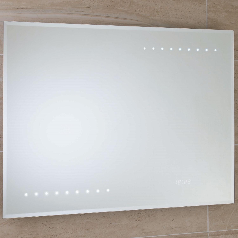 RAK Renoir Rectangular Bathroom Mirror 600mm H x 800mm W Illuminated