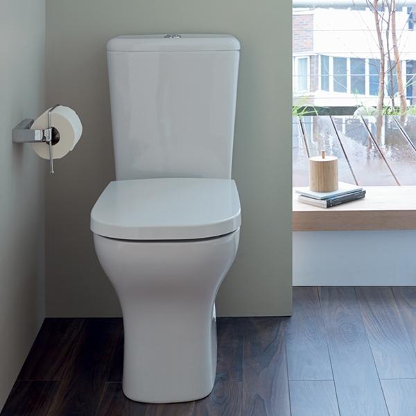 Mini Wc rak ceramics resort toilet rstpak mi coupled white