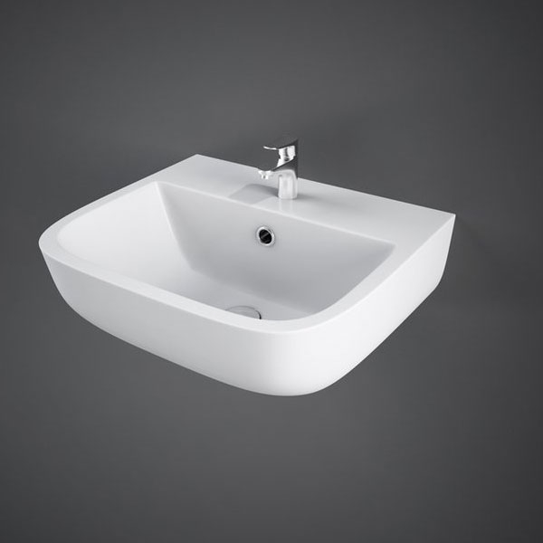 RAK Series 600 Cloakroom Basin 400mm Wide 1 Tap Hole