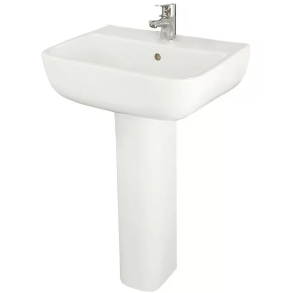 RAK Series 600 Bathroom Suite 1 Tap Hole-1